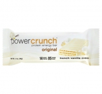 Barra de Proteina Power Crunch Vainilla