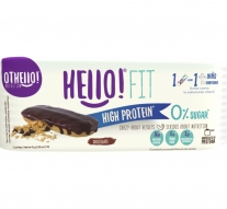 Barra de Proteina Hello Fit Chocolate x 45 gr
